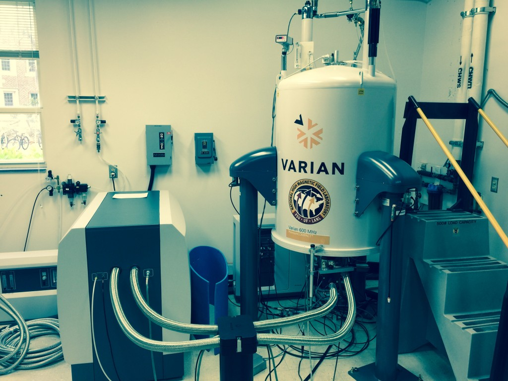 Varian VNMRS 600 with Cryoplatform & Cold Probes